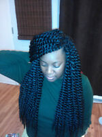 tresses africaines special fetes