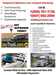"""""""WHY BE LEFT OUT!! GET TRUCK LOAN & BECOME AN OWNER OPERATOR"""""""