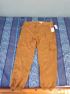NEW with tags , Cargo brown women pant