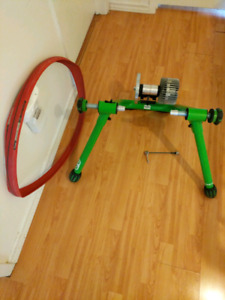 Kinetic road machine 2.0 and home trainer tire