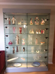 SPECTACULAR GLASS DISPLAY UNIT