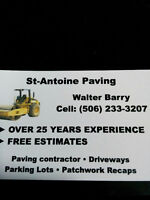 PAVING CONTRACTOR - Free estimates