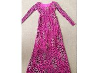 Pink long dress size 8/10