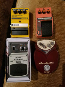 Guitar Pedals - Ibanez CP10 and DOD FX50B