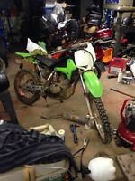 2003 klx125 needs tlc $300 firm