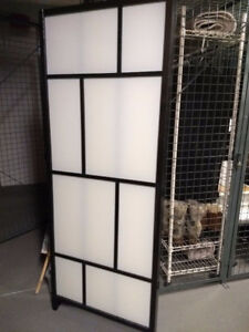 TWO Ikea Room Dividers -As Is - SOLD TOGETHER