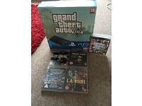 500gb PlayStation 3 grand theft auto 5 package.