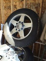 """20"""" rims and tires brand new $1200"""