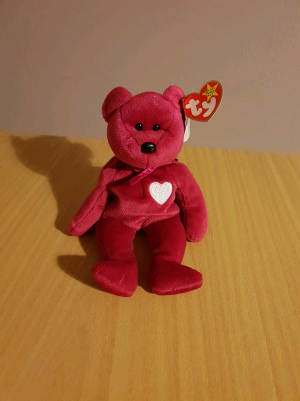 c1926231169 Ty Beanie Baby Valentina Bear