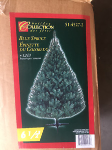 6.5 foot Christmas Tree - Blue Spruce