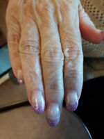 Student looking for clients for gel nails,manicures, pedicures