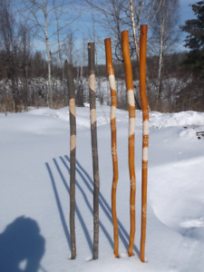 Mountain  hand carved  sticks