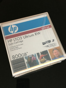 HP LTO-3 Ultrium Tape Cartridge Tape C7973A - Ultrium-3  800GB