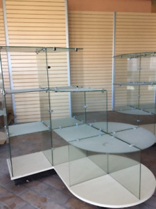 glass display showcase/ store fixture