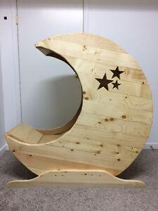 Custom Moon Crib