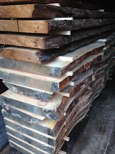LIVE EDGE WOODEN SLABS