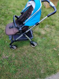3in1 Silvercross pushchair