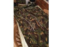 Hooped Army Bivi bag with hoop