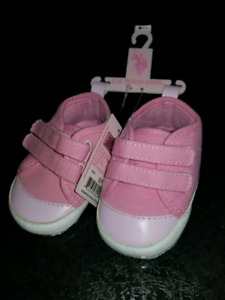 New baby girl shoes size 3