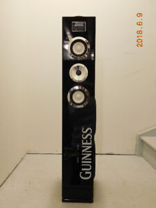 Guinness Speaker tower / iPOD Dock