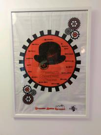 Glasgow Clockwork Orange Framed Art Work