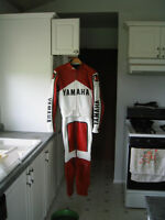 Custom Team Yamaha Motorcycle Leathers