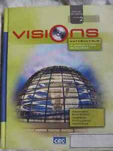 Visions Mathematique 1ere annee du 2e cycle du secondaire