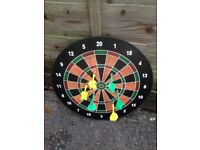 Magnetic dart board - free to collect