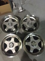 "4-16"" ROH 4x108mm Ford Mustang rims"