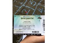 1 X priority entry Carole King concert ticket BST