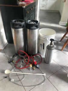 Beer kegging kit