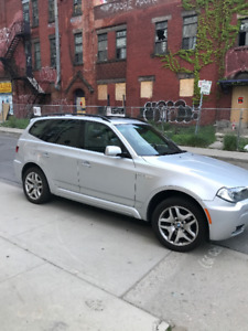 2008 BMW X3 AWD, M Package, LOW KMS 81,000, ACCIDENT FREE
