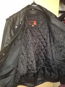 veste de cuire pour moto