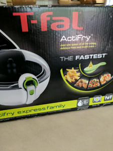 T-fal actifry never opened