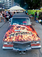 FOOD TRUCK DEATHGRILL FOR HALLOWEEN OR EVENTS