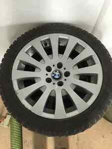 Dunlop winter tires & BMW rims Cambridge Kitchener Area image 2
