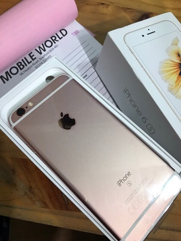 IPhone 6s 16gb brandnew ROSE GOLD 12 month Apple warrantyin Bradford, West YorkshireGumtree - IPhone 6s 16gb brandnew ROSE GOLD 12 month Apple warranty Orange ee virgin network Pick up from Mobile world 96 heaton road Bd9 4rj Bradford