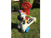 3 in 1 fisher price ride on