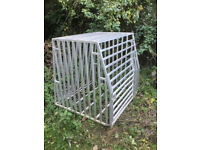 Large aluminium gun dog crate cage pig working dog birds free delivery