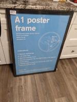"Brand New Wood Frame 23 x 33"""