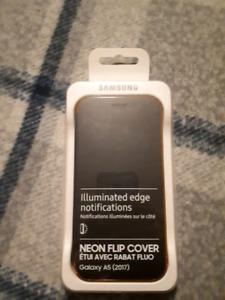 Samsung A5 Neon Flip Cover Case