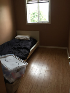 Selling Single Bed with Mattress AS IS!