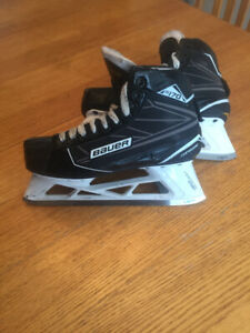 Bauer S170 goalie skates size 7.5d excellent condition