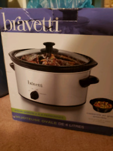 Bravetti 4 qt Crock Pot
