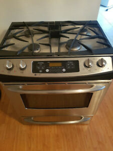 """30"""" G E. gas stainless steel stove for sale**"""