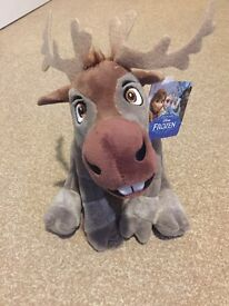 Sven from Frozen, soft plush toy, NEW with tag