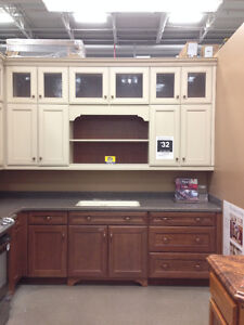 CABINETS, CORIAN COUNTER, SINK, RANGE HOOD & HARDWARE (PAID $40k London Ontario image 3