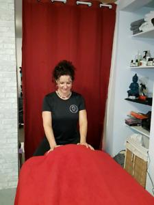 massage anti-stress, prix 1,00$ la minute