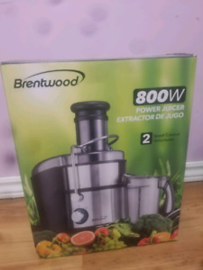 Brentwood power juicer