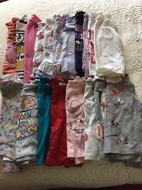 Girls 18-24 months long sleeve tops